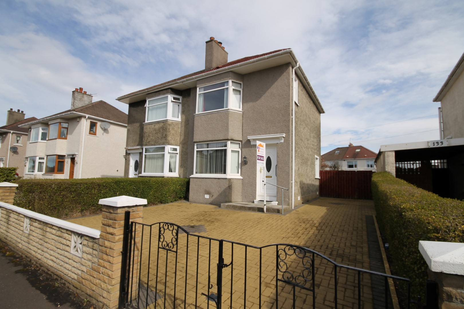 GARROWHILL – 2 Bedroom Semi-Detached