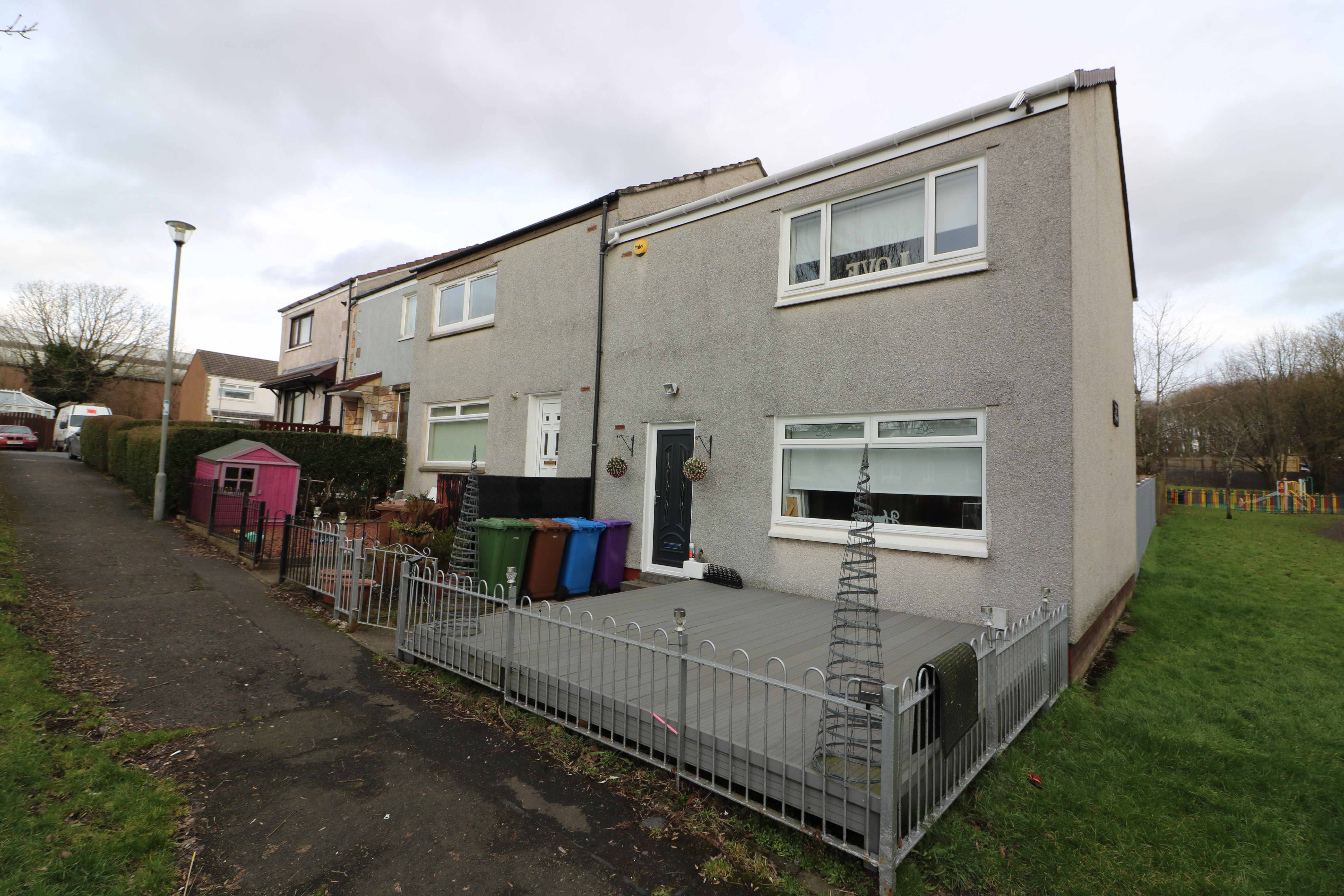2 Bed End Terraced Villa – Muirhead Gardens, Baillieston